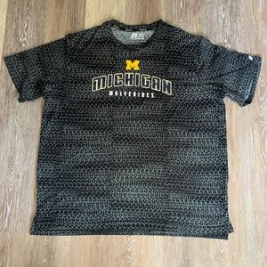 Russel Michigan Wolverines Men's Shirt